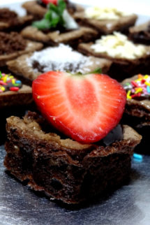 Foto de la receta de brownie de chocolate con nueces